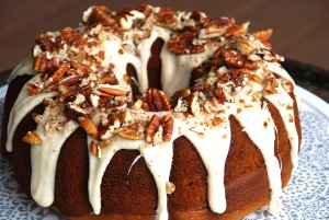 Pumpkin Spice Bundt with Browned Butter Drizzle 2