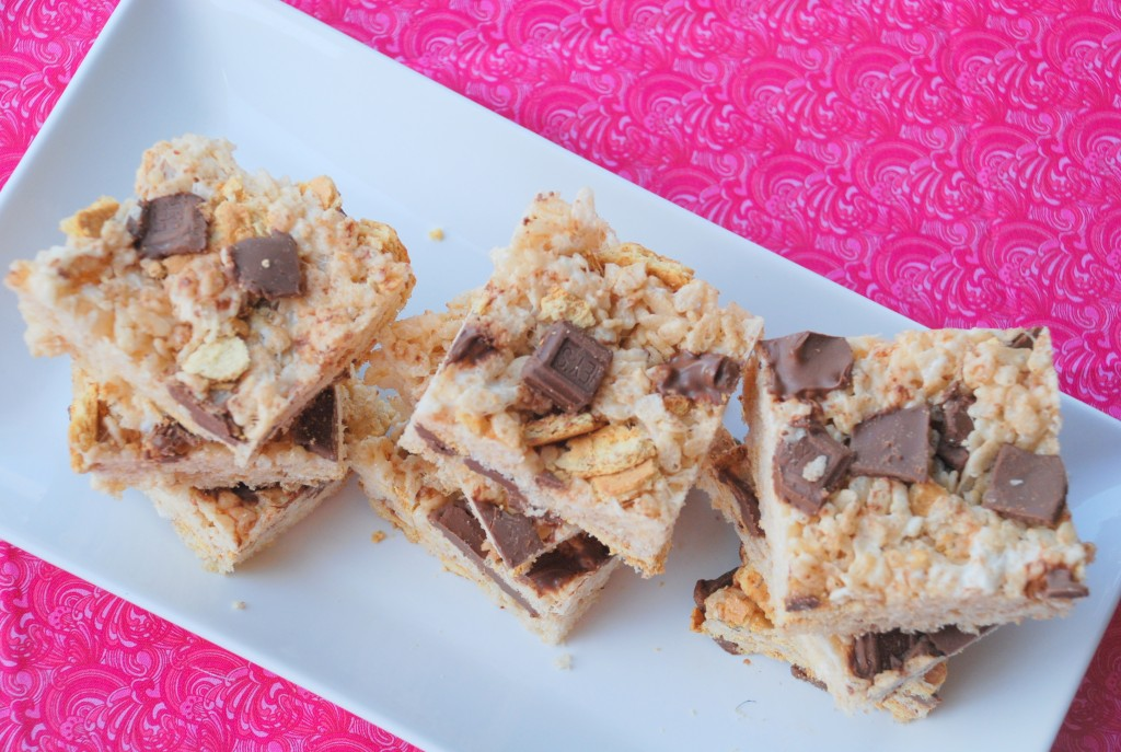 print s mores stuffed rice krispie treats ingredients 3 cups