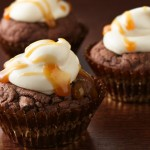 choco caramel cookie cups