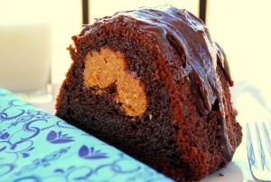 Chocolate peanut butter-stuffed bundt cake_small