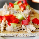Crock pot greek chicken pitas 1_small