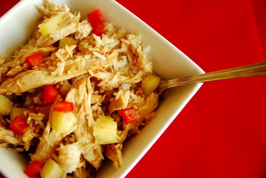 Crock pot honey ginger chicken bowls 1_small