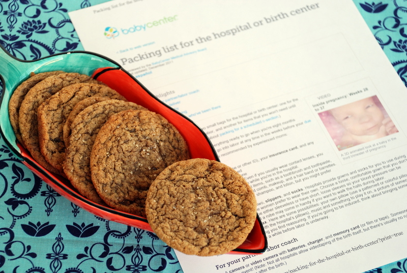 Jumpstart Your Labor Cookies!