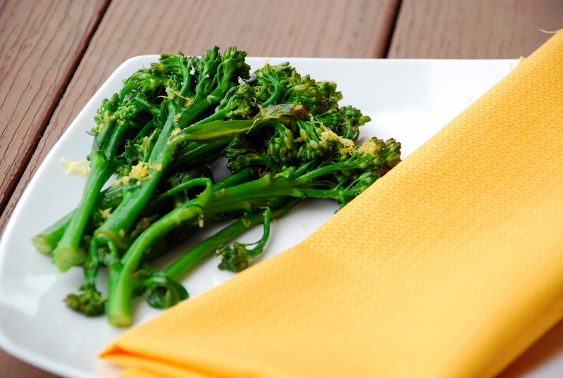 Lemon Garlic Broccolette