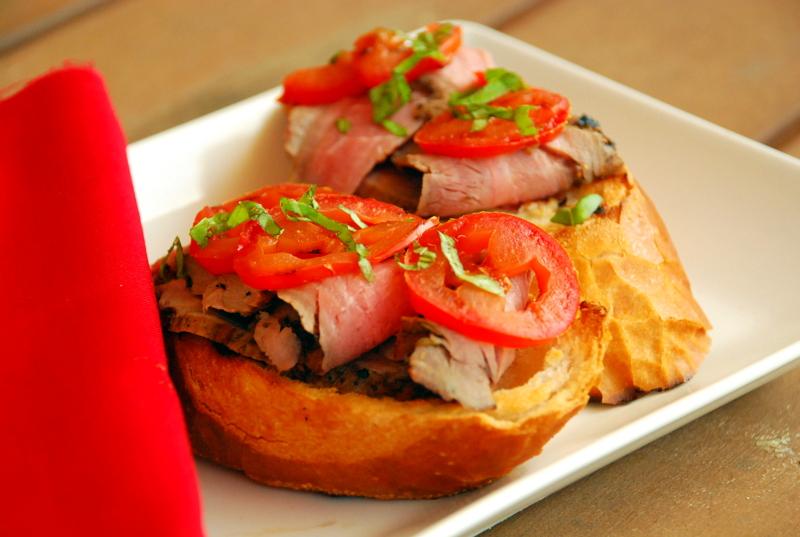 24 hour marinated steak