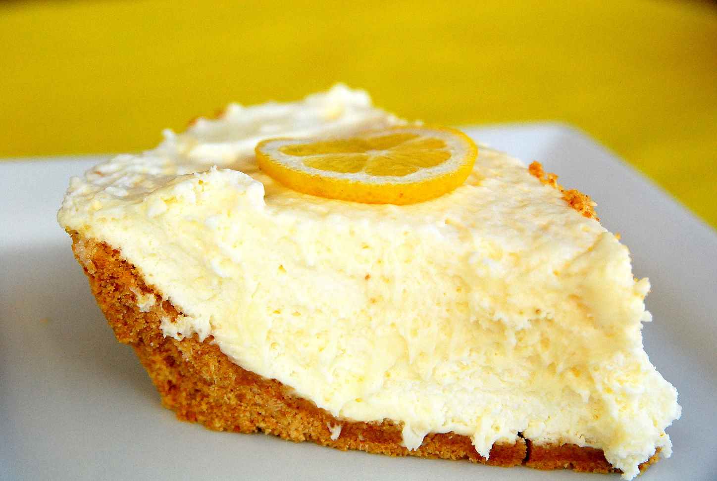 Luscious Lemon Icebox Pie