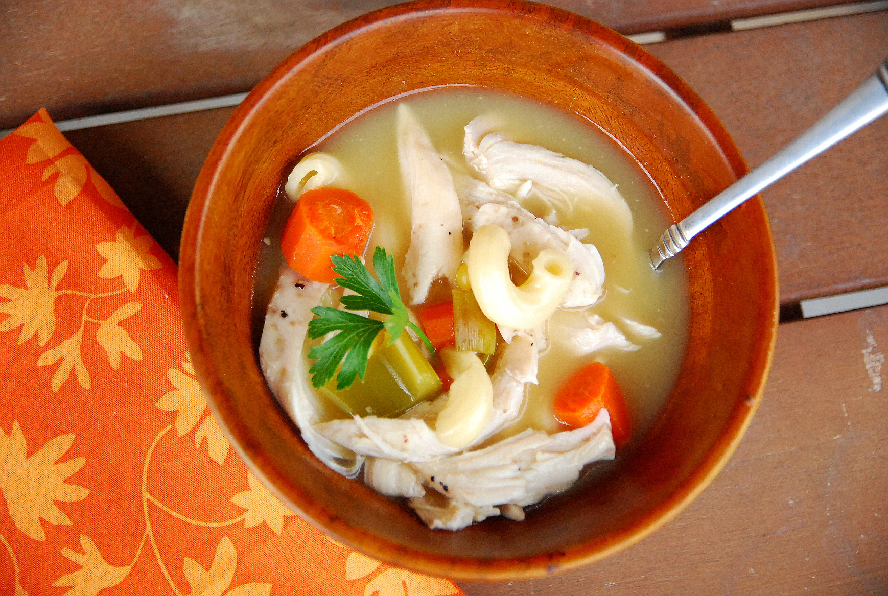 Easy crock pot chicken noodle soup for Homemade chicken noodle soup crock pot