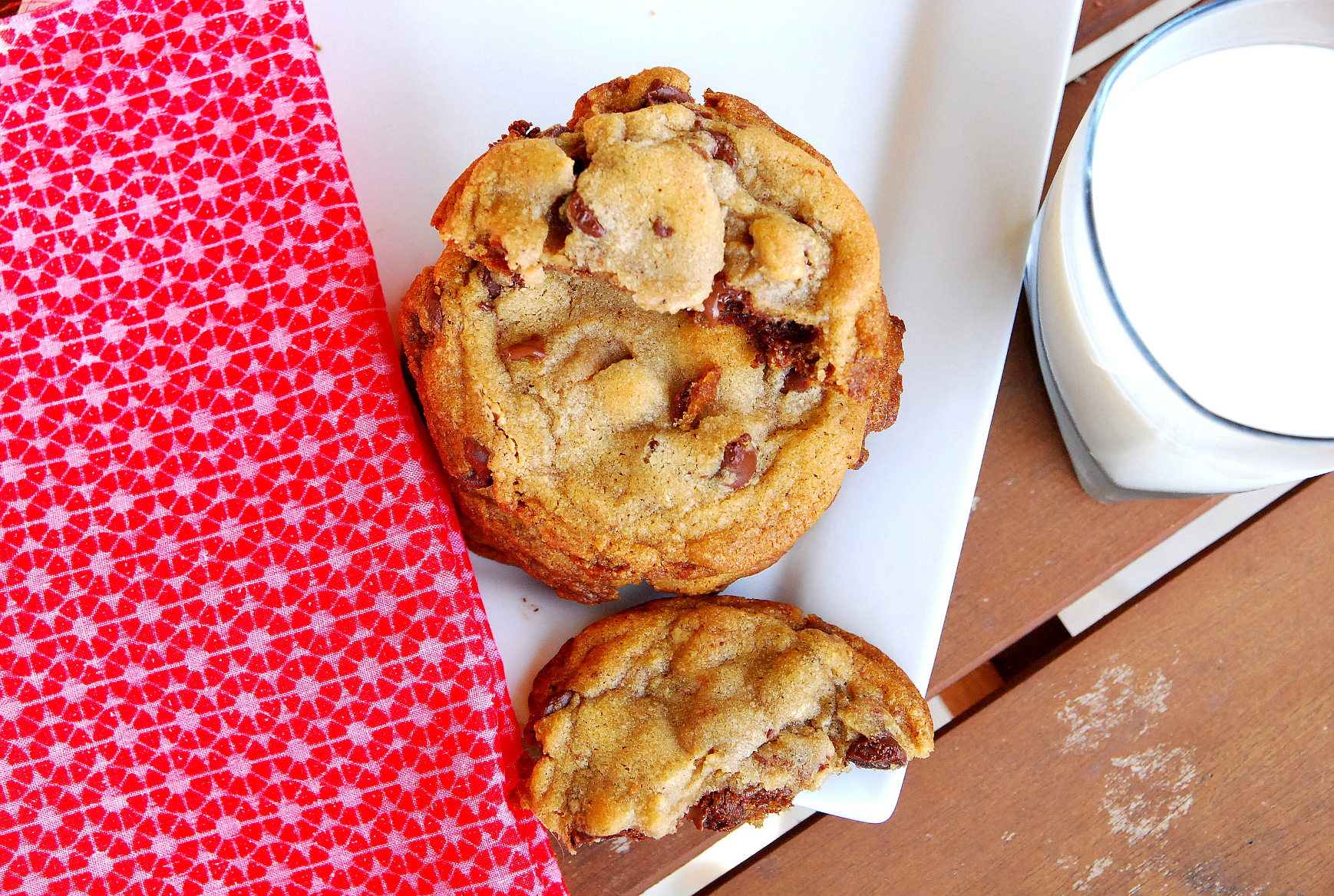 Holiday Cookie Countdown: Chocolate Chip Nutella Cookies with Sea Salt