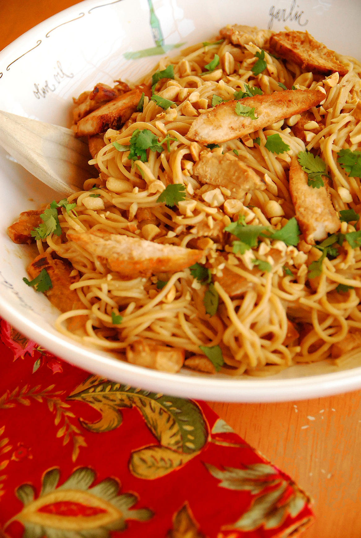 Kid Favorite: Thai Peanut Chicken and Noodles