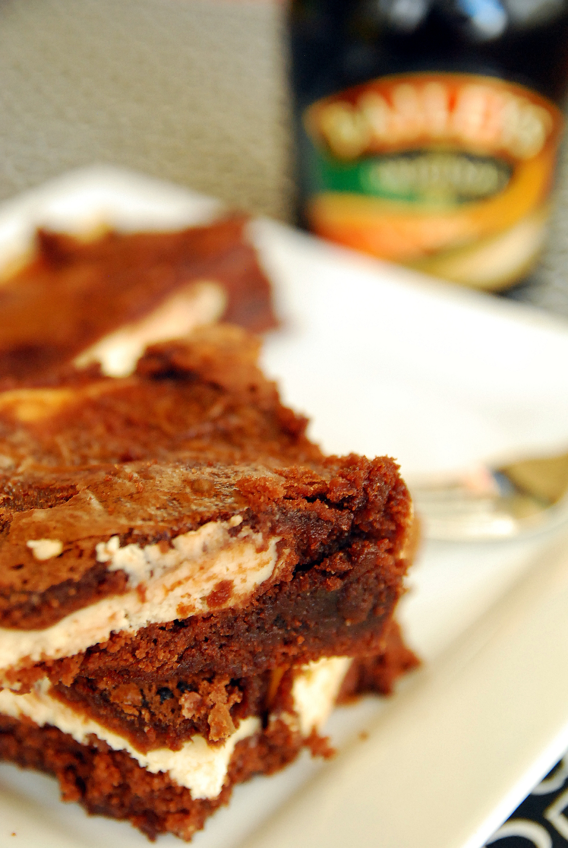 Cheater's Baileys Irish Cream Brownies