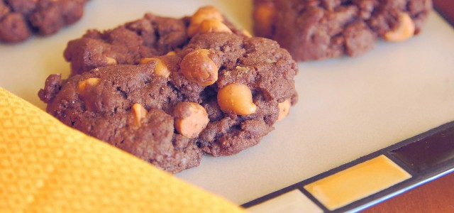 Chocolate butterscotch cookies 1_small