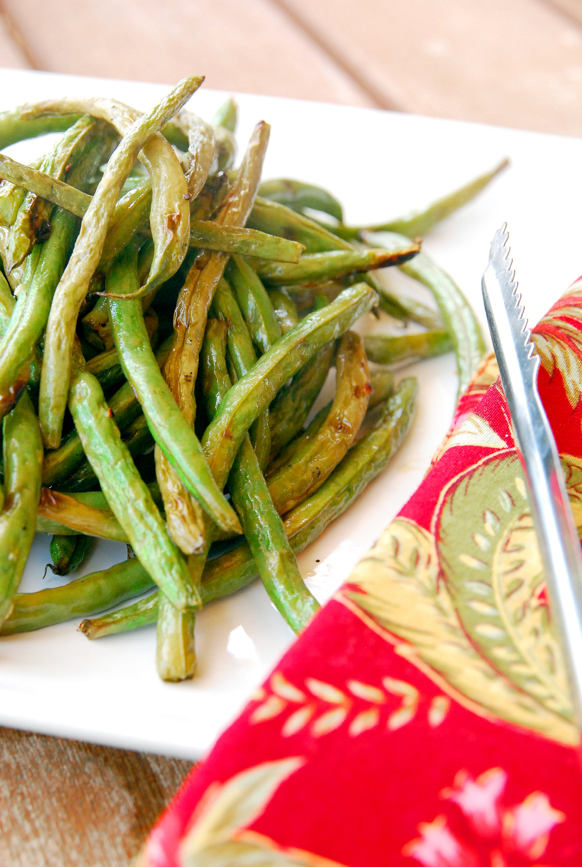 Grilled Green Beans (yes, you can!)