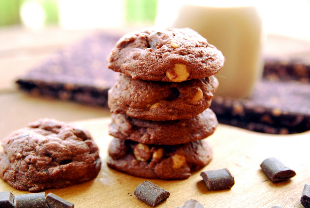 chocolate peanut butter pudding cookies 1_small