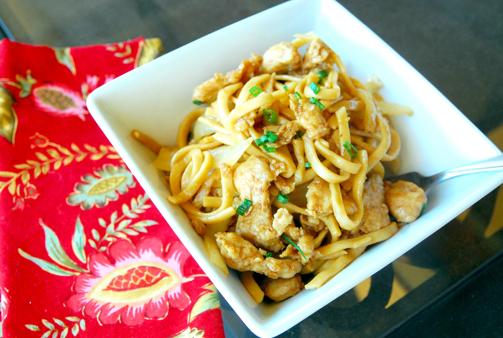 how to make easy chicken lo mein