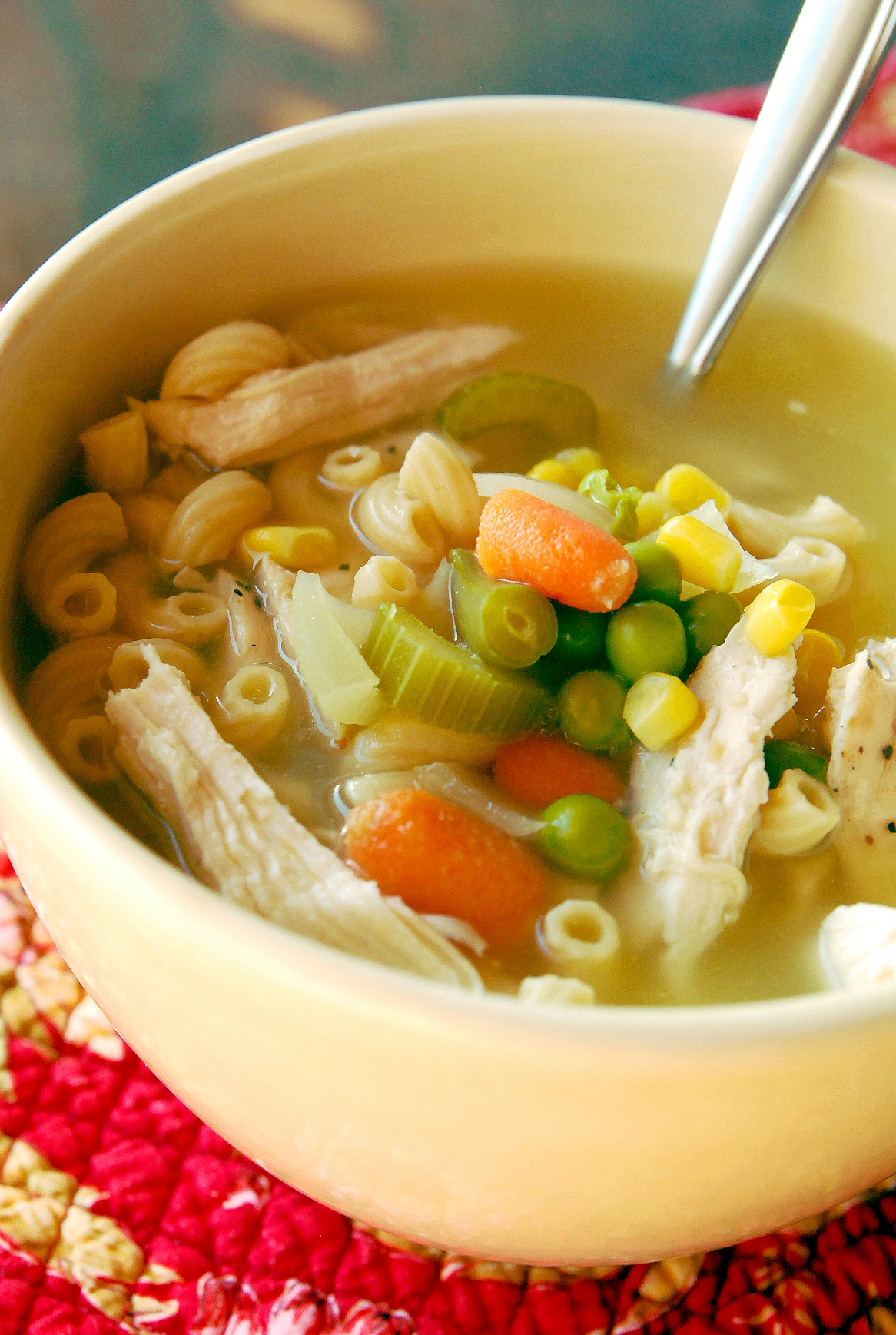 Leftover Turkey? Throw this Turkey Noodle Soup in your ...