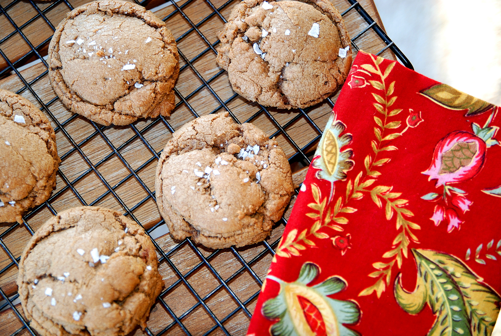 Holiday Cookie Countdown: Biscoff Crackles with Sea Salt