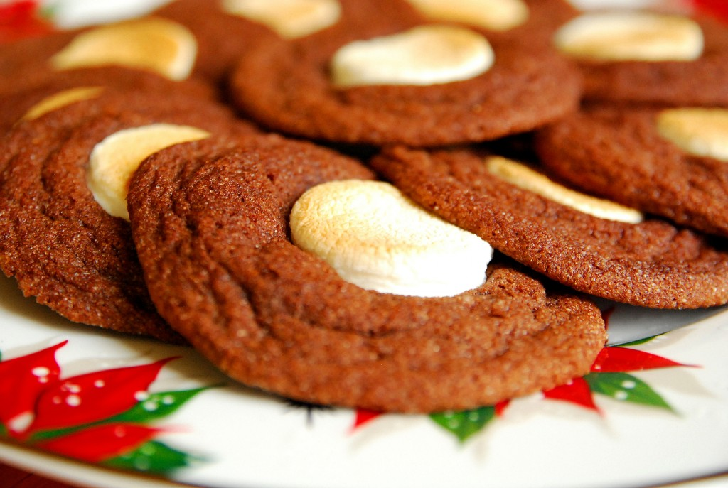 Toasted Marshmallow Hot Chocolate Cookies 1_small