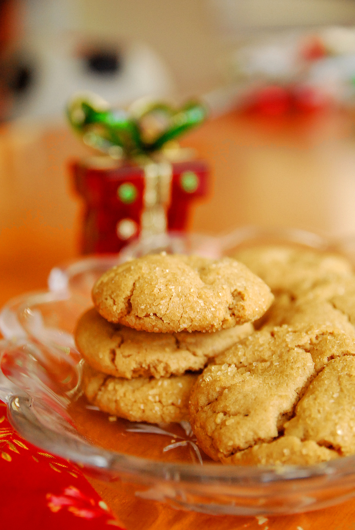 Holiday Cookie Countdown: Peanut Butter Chai Crackles