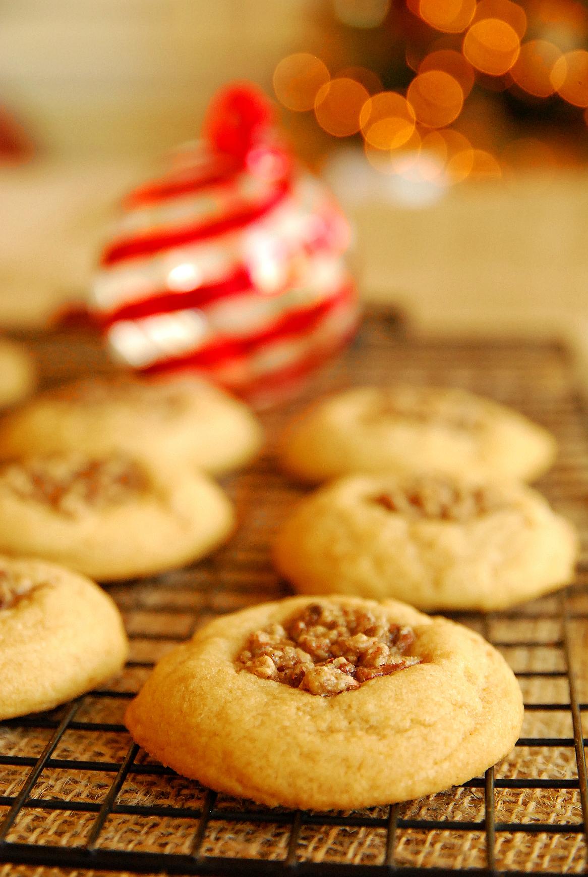 Holiday Cookie Countdown: Pecan Pie Cookies