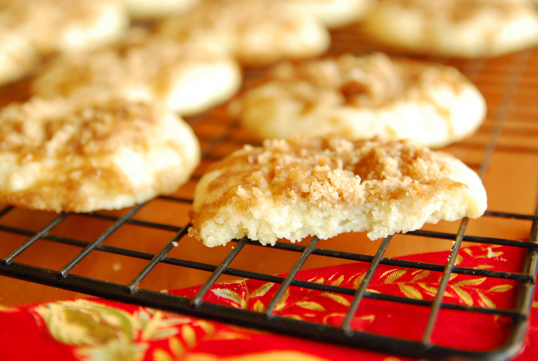 Holiday Cookie Countdown Sour Cream Coffee Cookies