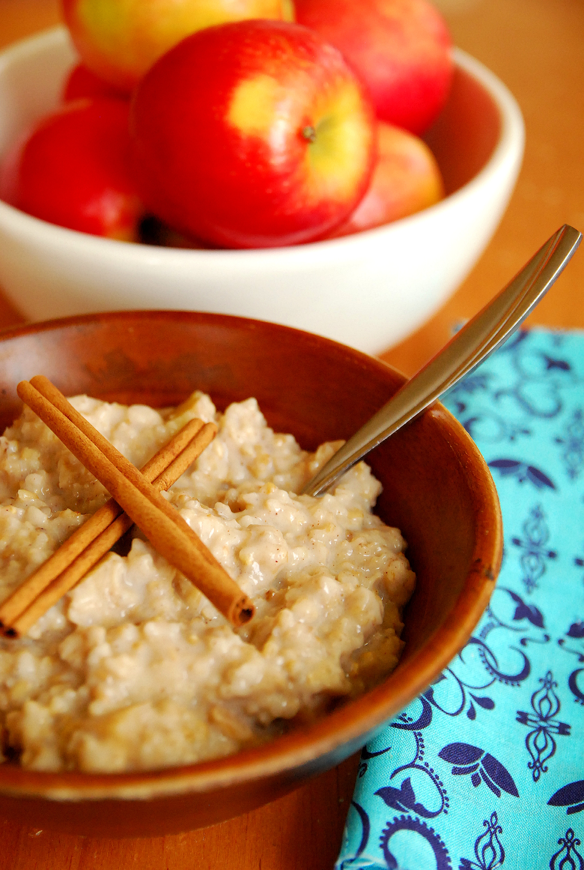 Overnight Apple Pie Oatmeal
