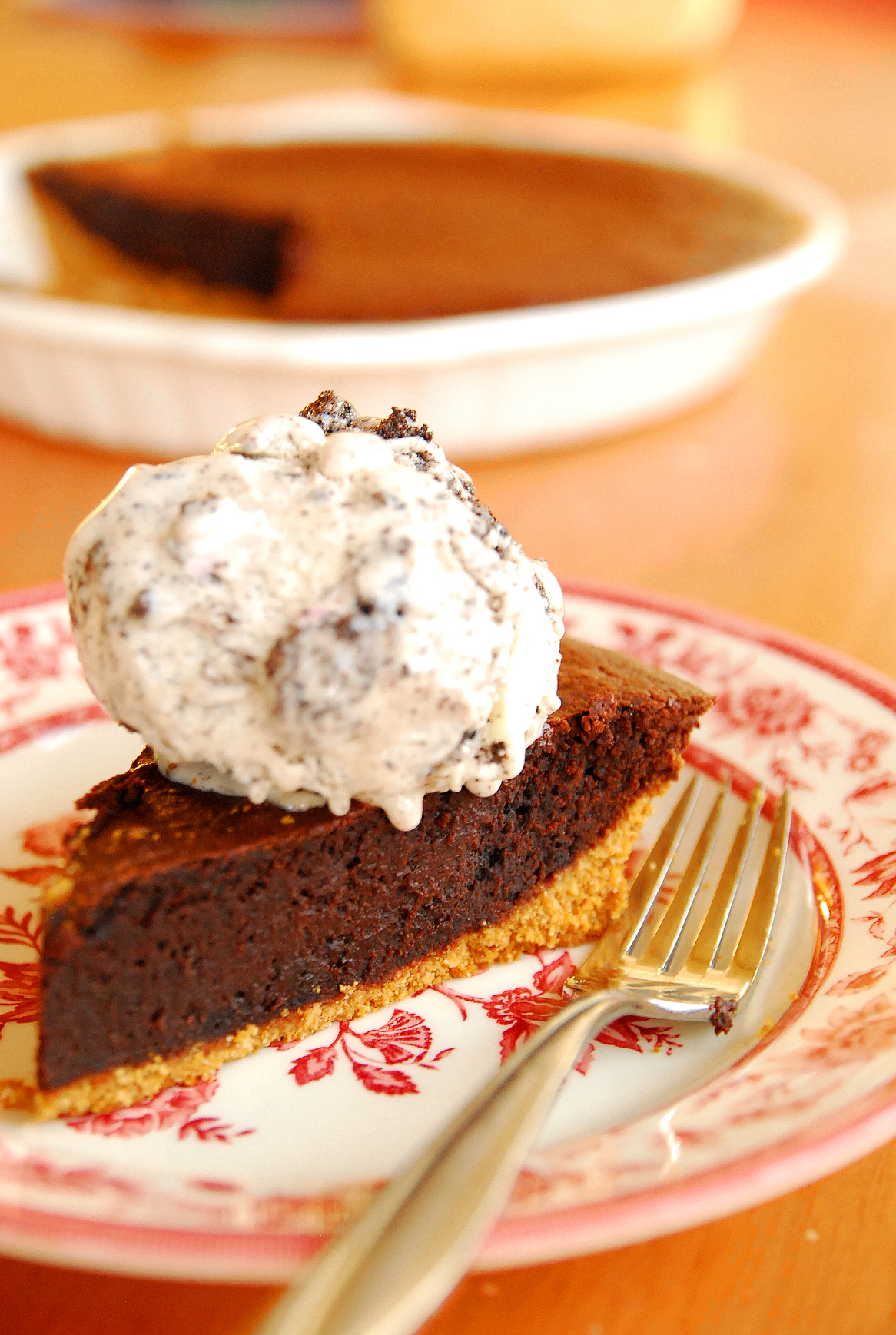Hot Fudge Pie