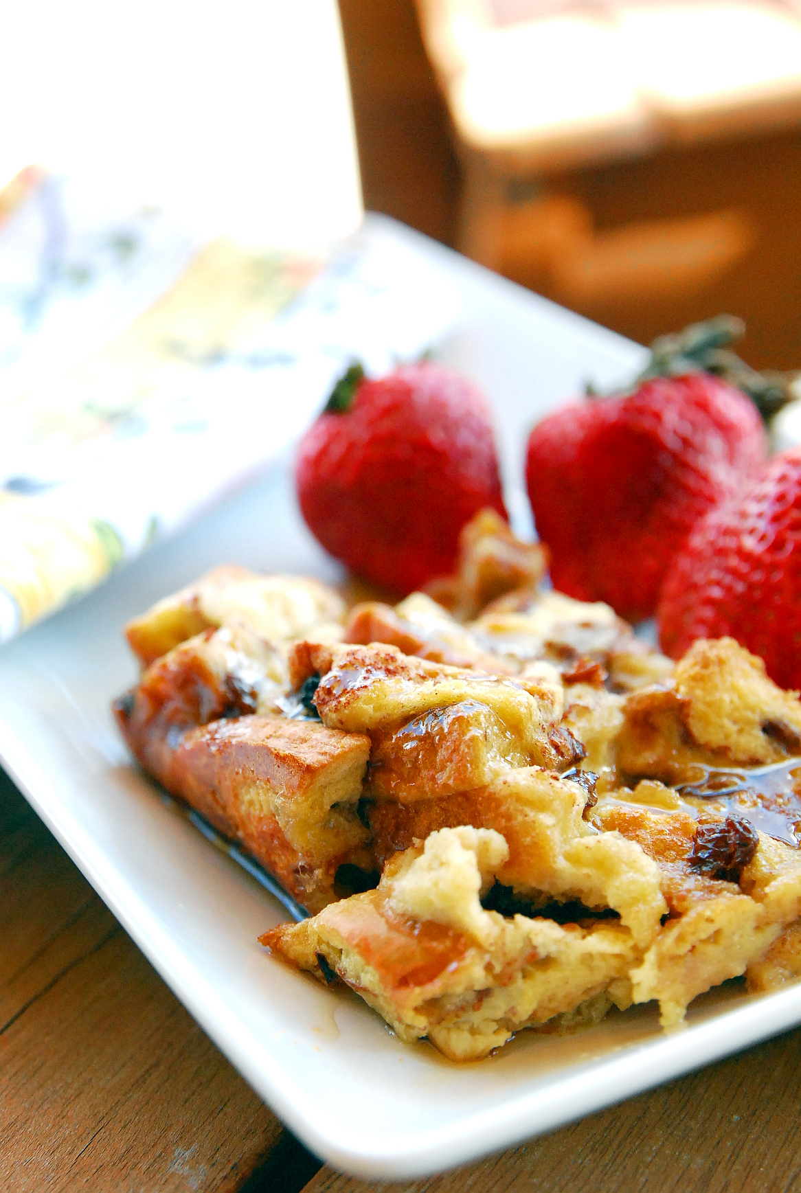 Overnight Baked Apple French Toast