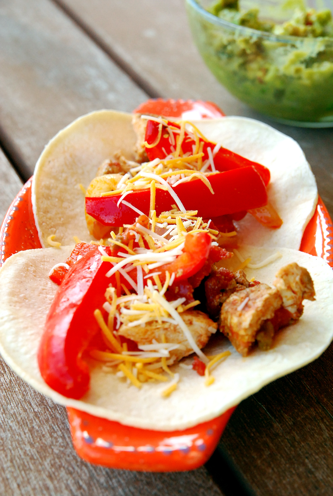 Easy Baked Chicken Fajitas
