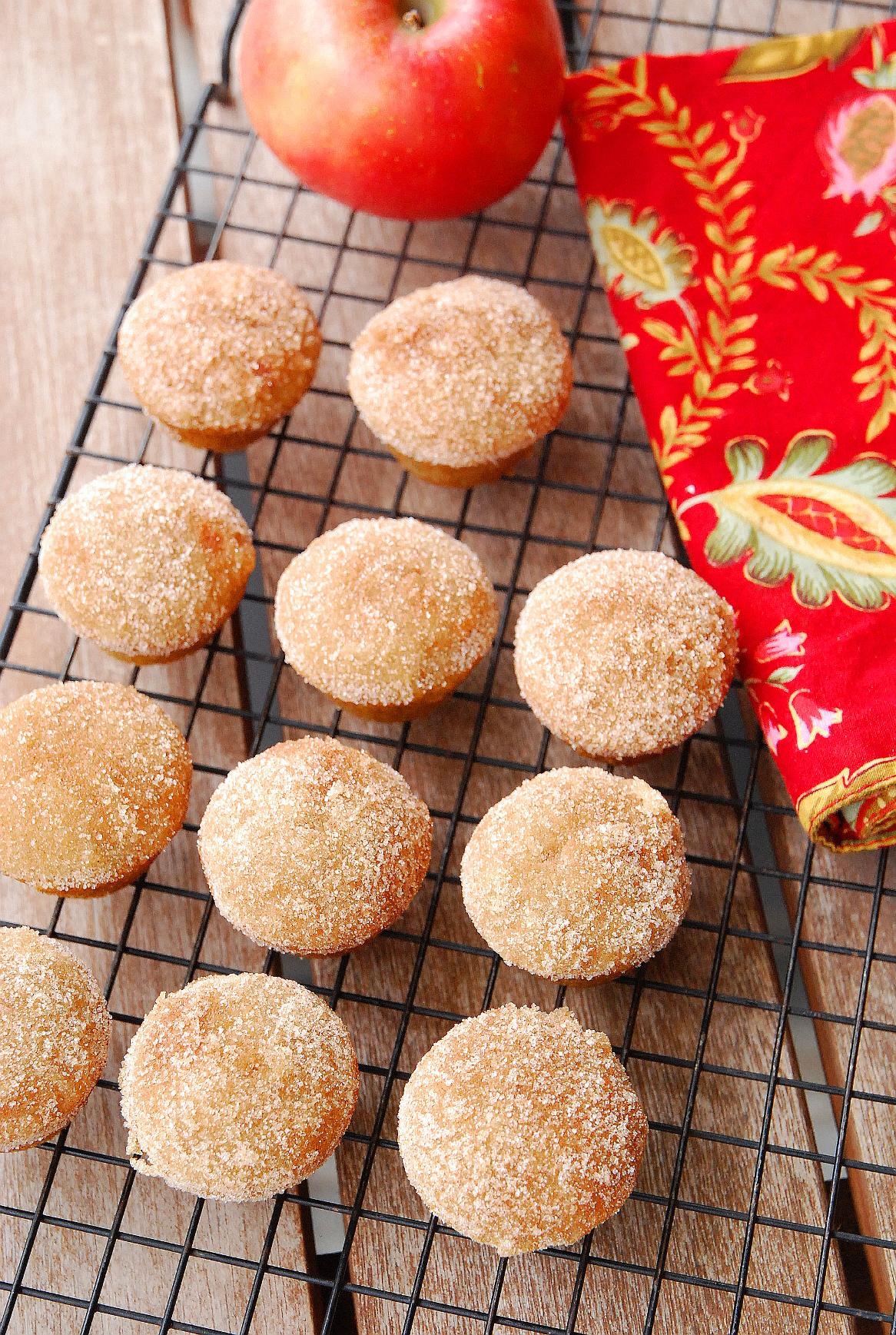 Apple Cider Cinna-Mini Muffins
