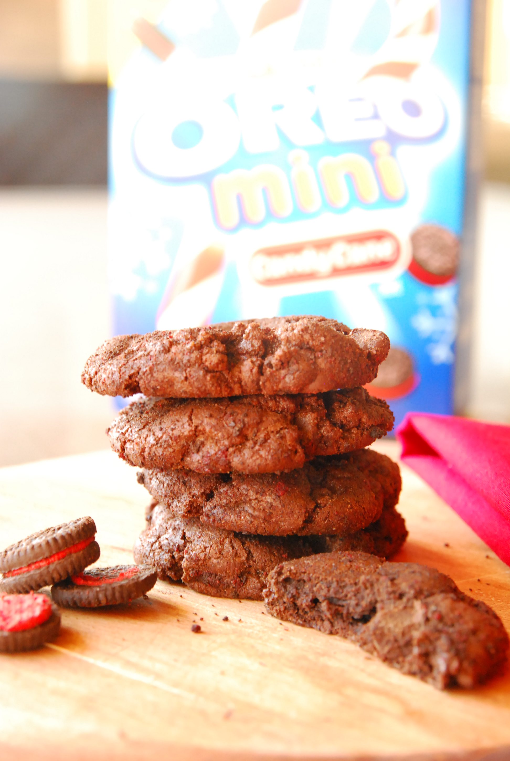 Holiday Cookie Countdown: Peppermint Oreo-doodles