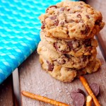 Milk chocolate caramel pretzel cookies 1_small